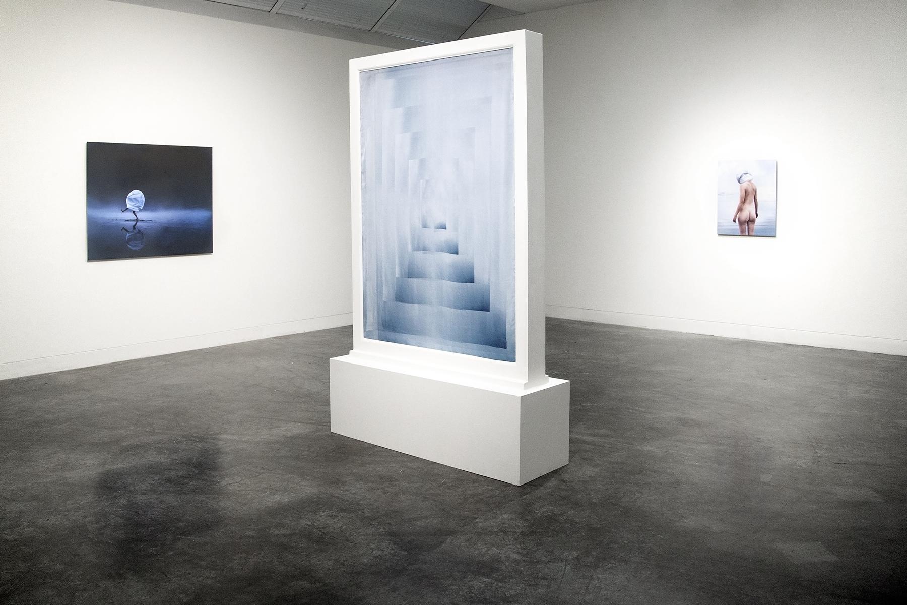 Paradise Island exhibition installation